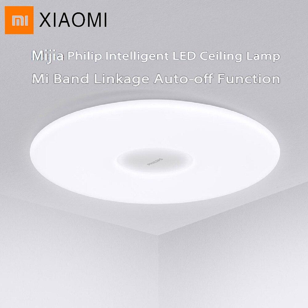 Original Philips CONDUZIU a Lâmpada Do Teto À Prova de Poeira App APP Controle Remoto Sem Fio Escurecimento AC 100-240 V CONDUZIU Luzes de Teto