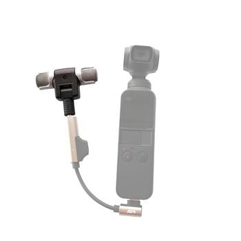 Portable Mini Mic External Microphone for DJI OSMO Pocket 3 AXIS Gimble Camera Professional Digital Stereo Recording pocket tripod pro