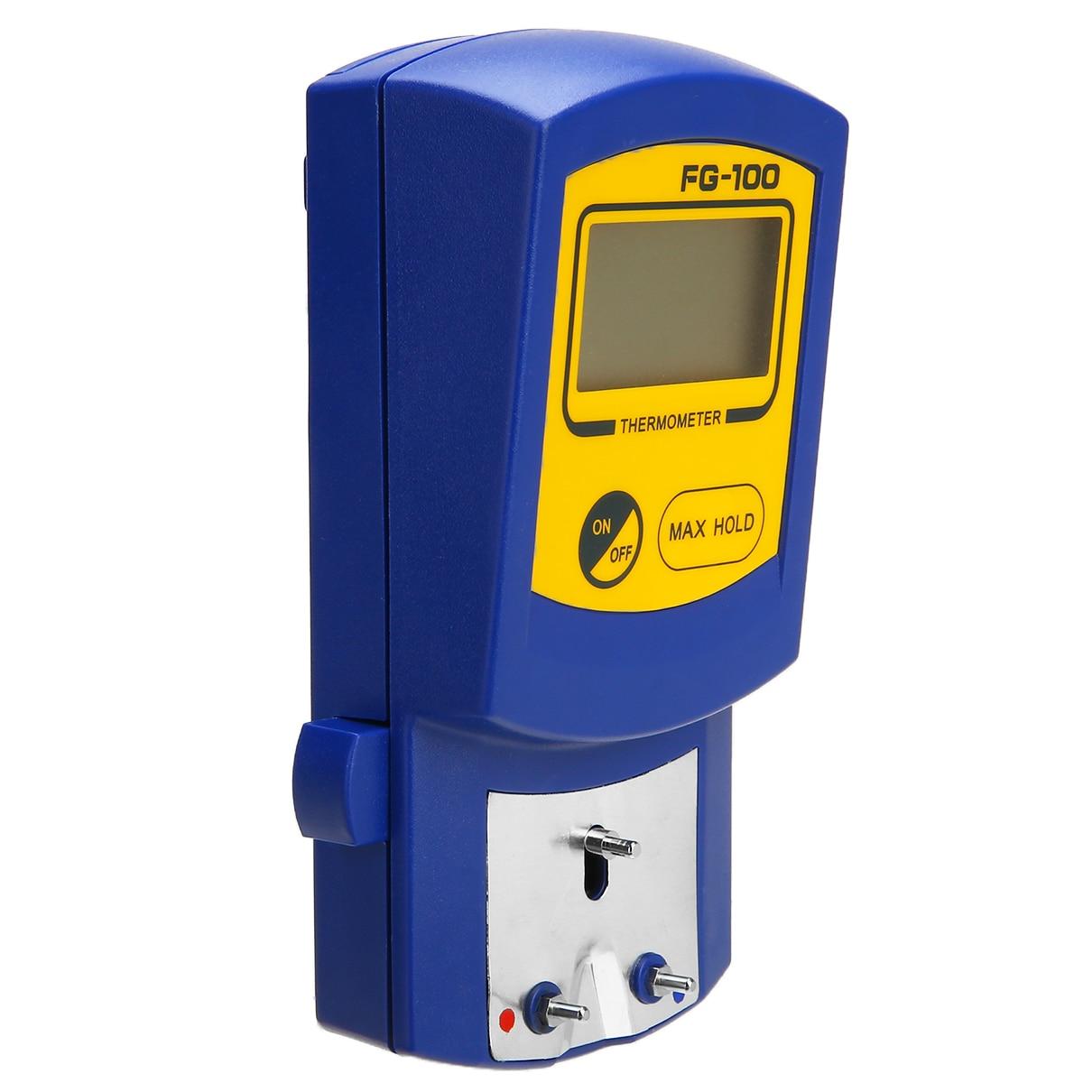 1 шт., цифровой термометр для паяльника, 70x130x40 мм