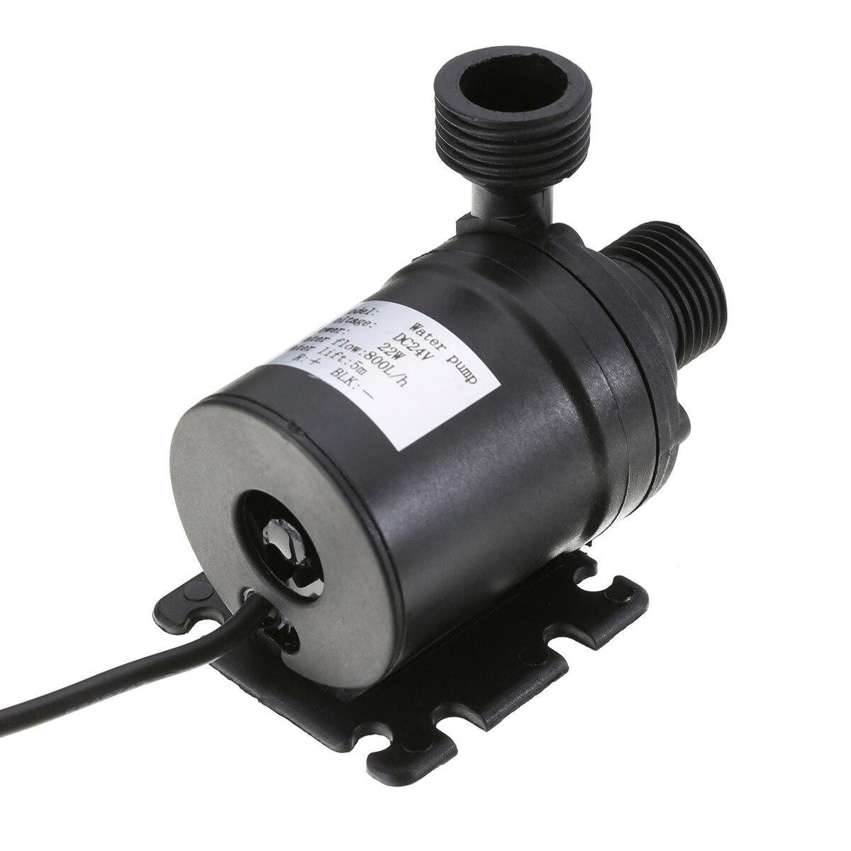 "1pcs 12VDC Micro pump G1//2/"" Circulatory system pump hot water pump Brushless T40"