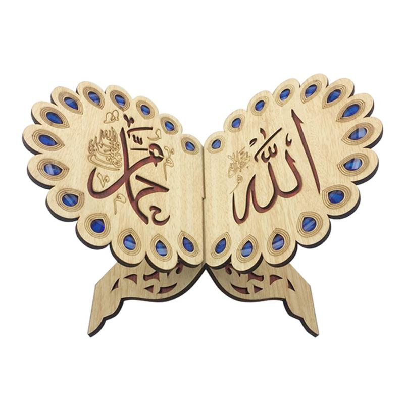 Office & School Supplies Bookends Ramadan Eid Decor Crystal Quran Book Allah Islamic Muslim Gift Scripture For Home Decor Polishing Quran Book Bookends Ornament