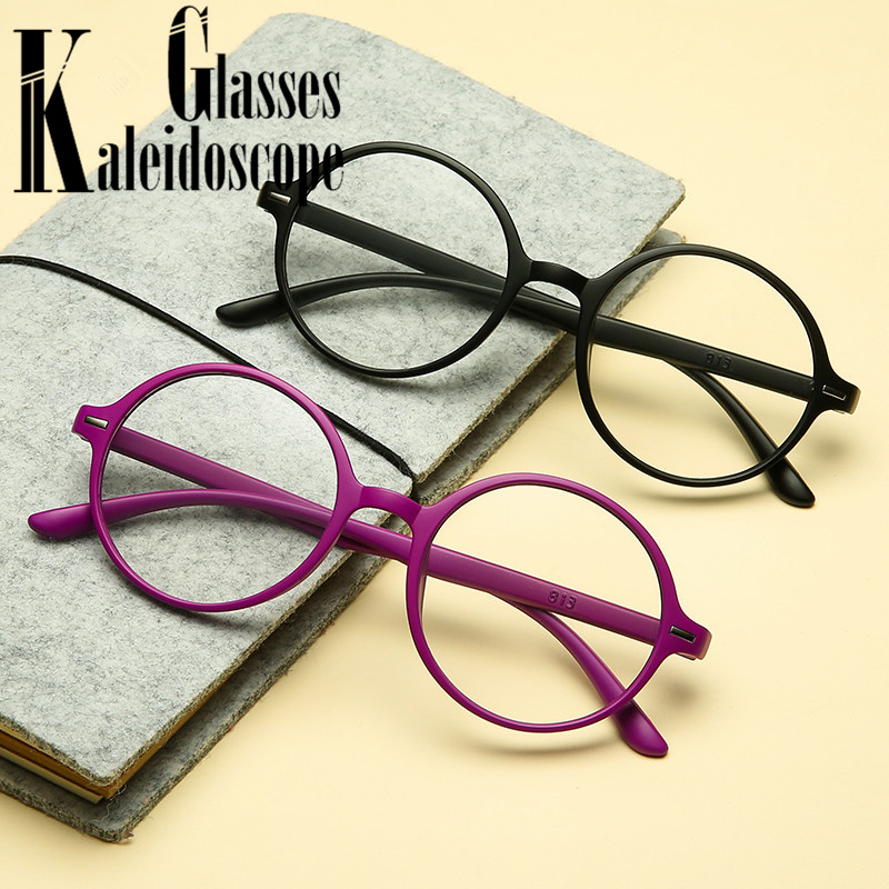 Women Men Reading Glasses Lightweight Presbyopic TR90 Retro Round Reader Glasses Presbyopia Eyewear 1.0 1.5 2.0 2.5 3.0 3.5
