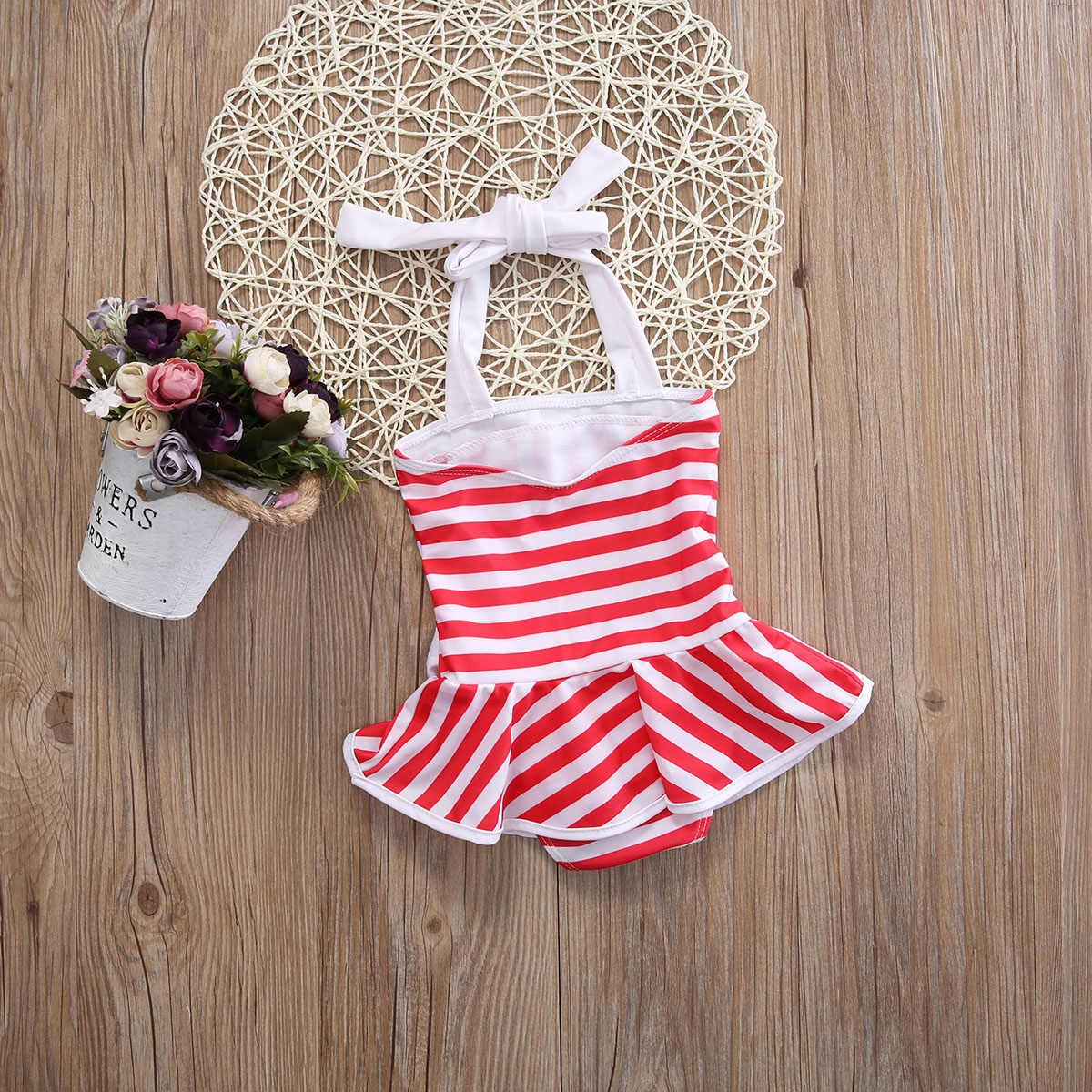 23fc89e243fb9 ... Cute Kid Toddler Baby Girl Bikini Set Swimwear Swimsuit Beachwear Bathing  Suit ...