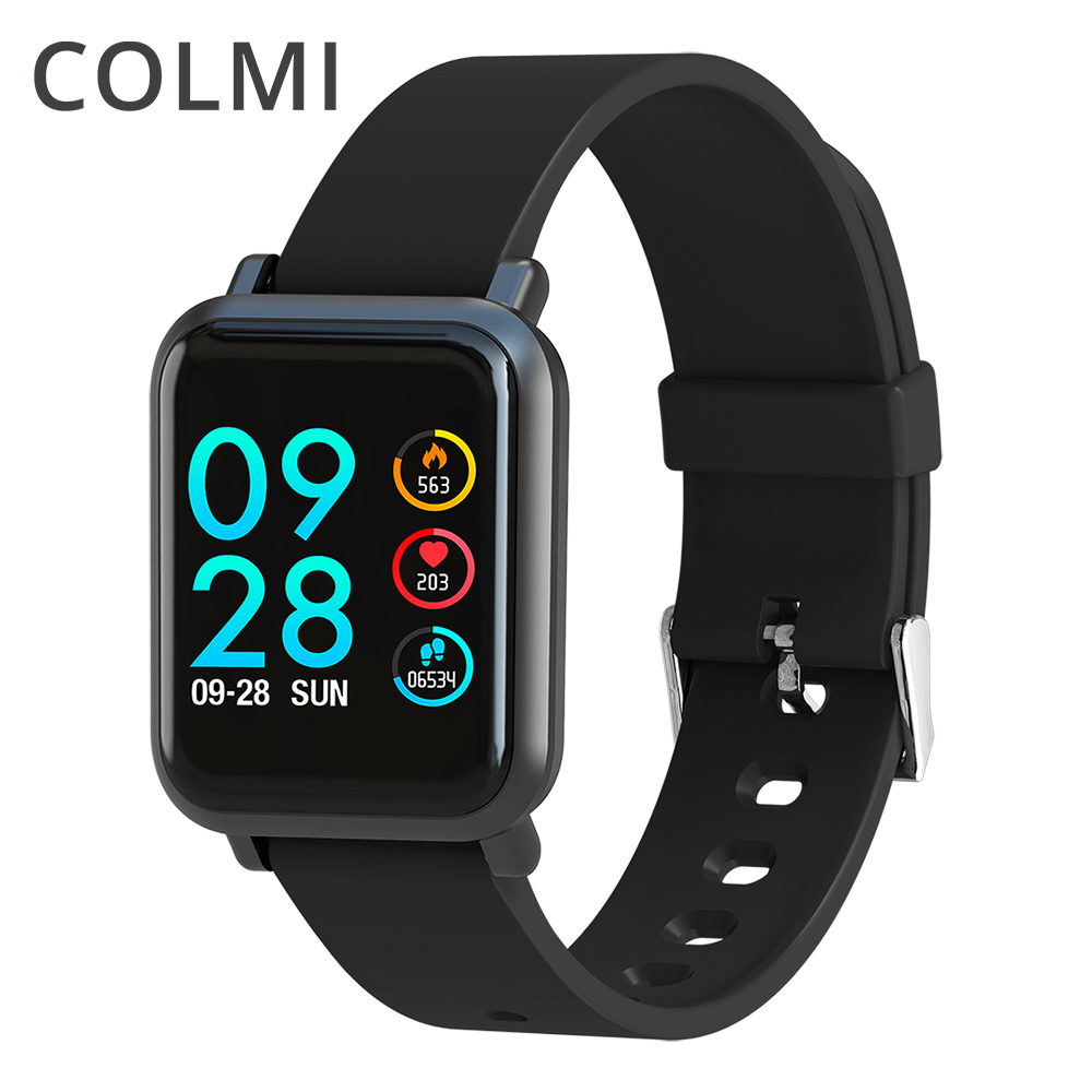 COLMI Smart watch S9 Plus 2.5D Screen Gorilla Glass IP68 Waterproof Clock Fitness Activity Tracker Smartwatch for apple phone
