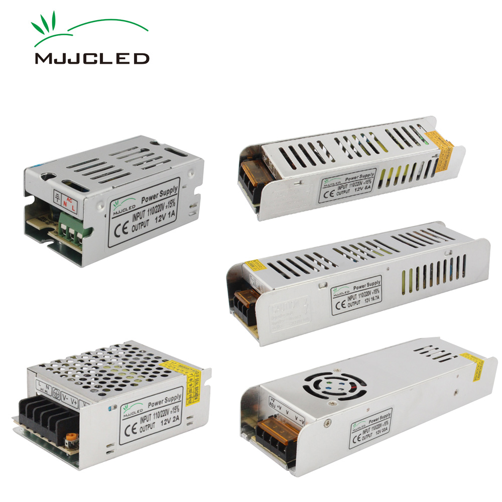 <font><b>Power</b></font> <font><b>Supply</b></font> <font><b>12V</b></font> 1A 2A 5A 10A 20A <font><b>25A</b></font> 30A AC DC <font><b>12V</b></font> Transformer 220V 12 Volt Switching <font><b>Power</b></font> <font><b>Supply</b></font> Unit for LED Strip Lighting image