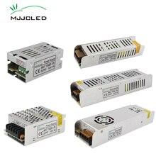 امدادات الطاقة 12 V 1A 2A 5A 10A 20A 25A 30A AC DC 12 V محول 220V 12 فولت تحويل التيار الكهربائي وحدة ل مصابيح ليد للإضاءة الشريطية