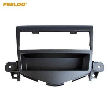 FEELDO 1Din Radio estéreo para coche reposición de marco de DVD para CHEVROLET Cruze 2009 + Kit de montaje de marco de Fascia Panel de salpicadero