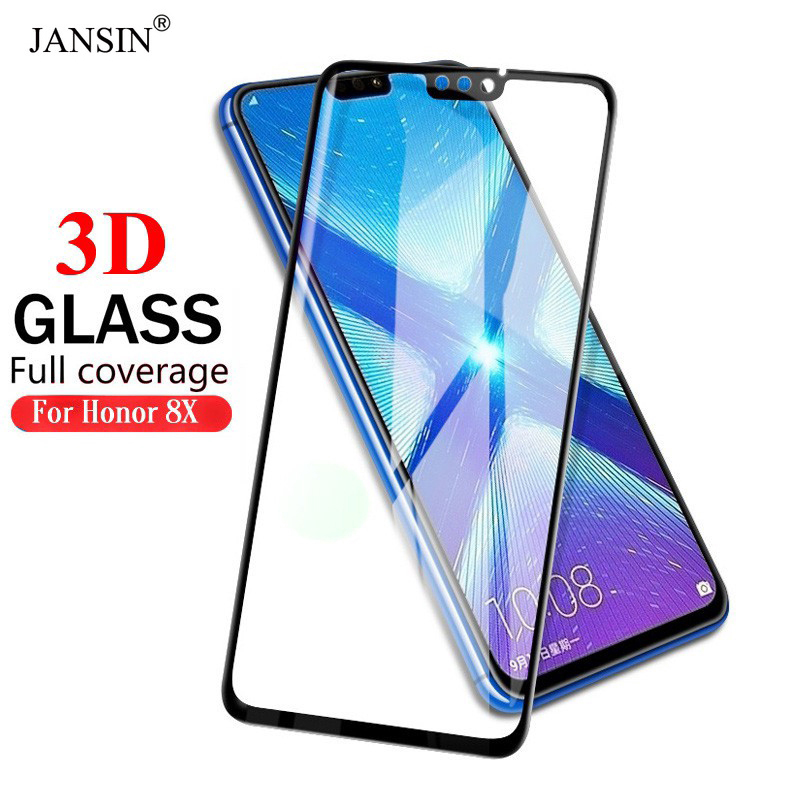 US $2 49 50% OFF|HUAWEI Honor Honor 8X Screen Protector 3D Full Tempered  Glass For Huawei Honor 8X Huawei P30 Pro Screen Protector Edge Glass-in  Phone