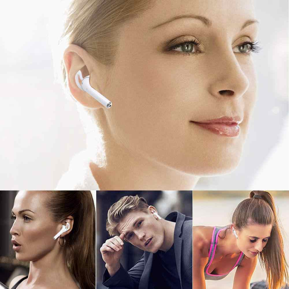 EastVita 1 זוגות אוזן וו Earbud אוזניות כיסוי מחזיק עבור אפל AirPods ספורט אבזרים