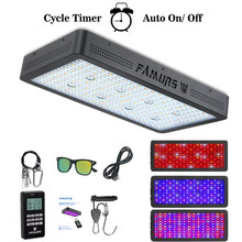 Famurs led grow light Full Spectrum with remote control 3000W Veg/Bloom Timer Group control for Indoor Plants high yield(China)