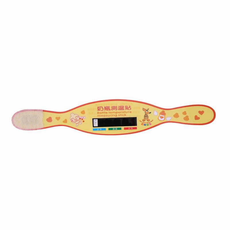 1 Pc Säuglings Milch Flasche Temperatur Mess Aufkleber Wiederverwendbare Thermometer Temperatur Mess Karte Test Papier Baby Sicherheit Pflege äRger LöSchen Und Durst LöSchen