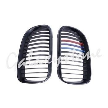 Матовый черный м-Цвет Передняя почек Решетки Решетка для 2011-2013 BMW E92 LCI E93 2DR >> GalaxyStone Store