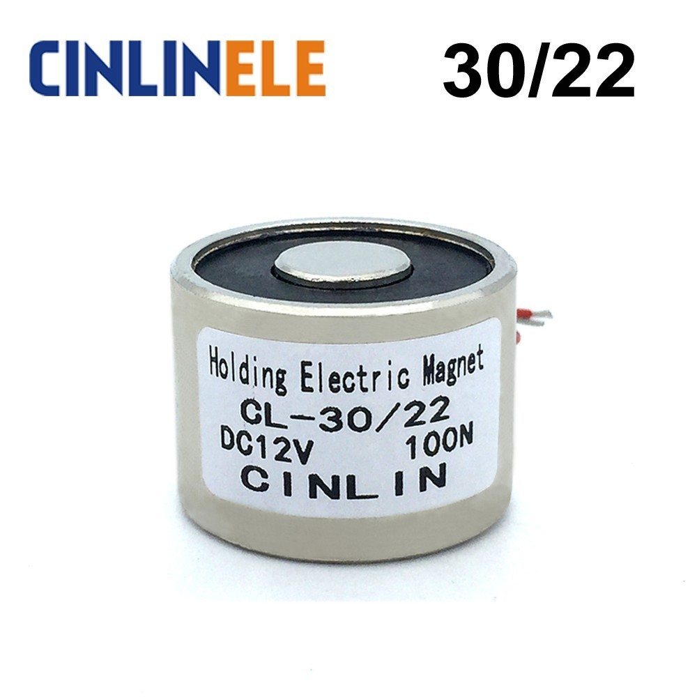 24V DC 100N Electric Lifting Magnet Electromagnet Electromagnets Lifting