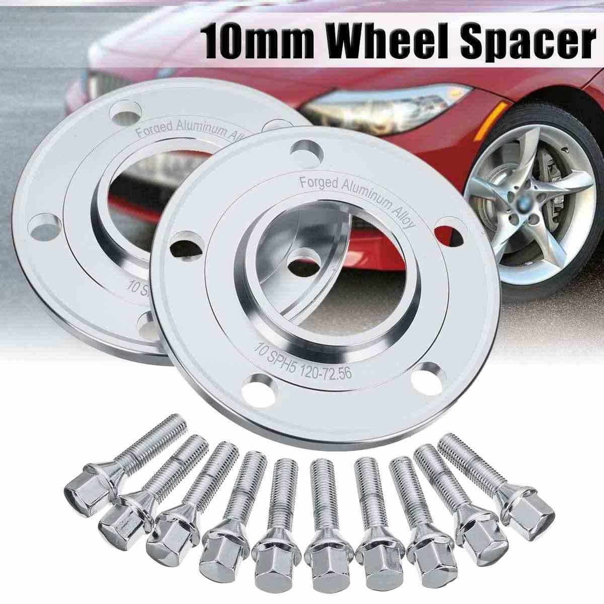 Pair Car 10mm Wheel Spacer Adapter 5x120mm Tire Spacers For Bmw 1 3 5 7 8 Series Z3 Z4 Z8 E88 E30 E36 E46 E28 E34 Tire Accessories Aliexpress
