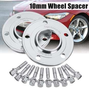 Pair Car 10mm Wheel Spacer Adapter 5x120mm Tire Spacers For BMW 1 3 5 7 8 Series Z3 Z4 Z8 E88 E30 E36 E46 E28 E34