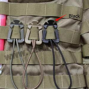 Backpack-Buckle Carabiner-Clip Shackle Snap-Lock Quickdraw Molle Webbing Grimlock Attach