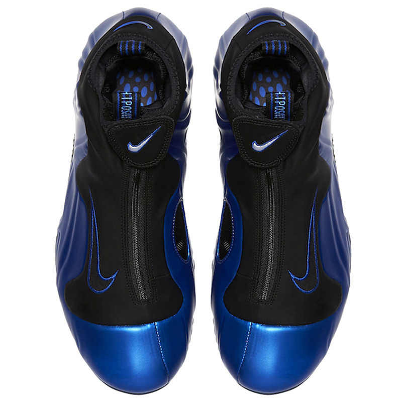 detailed look 22bfa c28a4 ... Nike Air Flightposite Men Basketball Shoes New Arrival Blue Wind One  Increase Comfortable Motion Engraved Sneakers