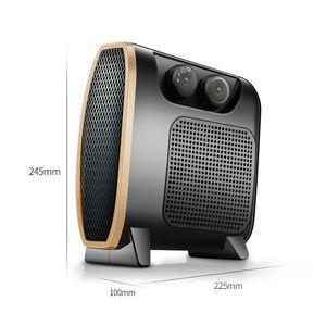 Image 5 - 220V 1500W Heater Draagbare Mini Elektrische Kachel Elektrische Thuis Verwarming Ventilator Handy Air Warmer Stille Home Office Handy heater