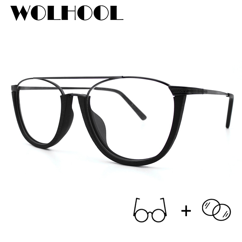 Brillen 19 Rahmen Progressive Mann Acetat Gläser Photochrome Halb Mit 10 Myopie Quadrat Dioptrien wUOdFxqZ