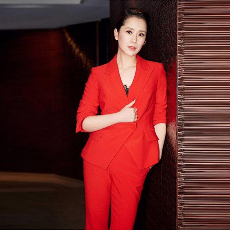 De Pièces Version Ensemble La Tweed Couleur Deux 2019 Coréenne Costume Taille Femmes Nouveau Slim Ensembles Solide Mince 1 Tempérament Plus Tenue qOZtYw