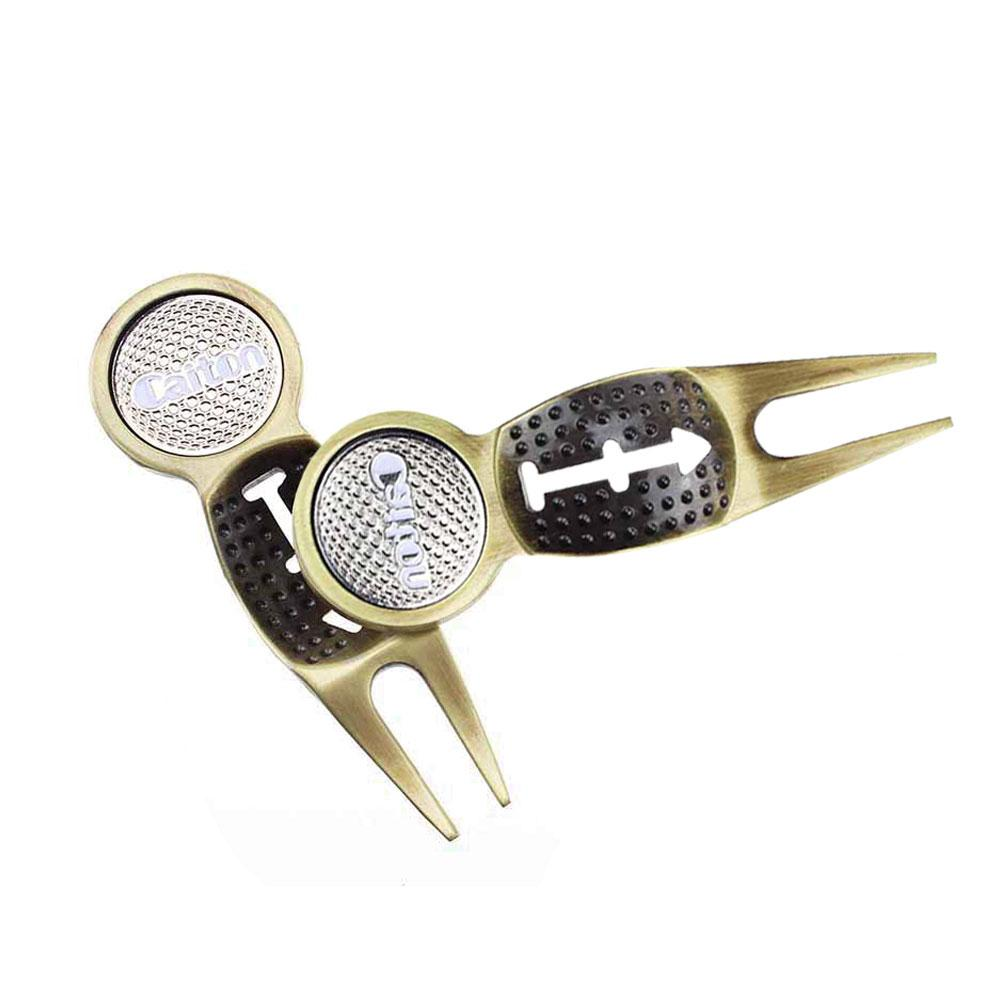 Image 4 - New small Golf Divot Tool Metal Green Hardware Tools Golf Accessories Sports Entertainment Golf Accessories support wholesale-in Golf Training Aids from Sports & Entertainment