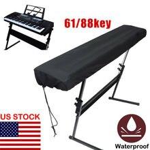 Faroot пылезащитный чехол для водонепроницаемой регулируемой фортепианной клавиатуры для клавиатуры 61/88-key