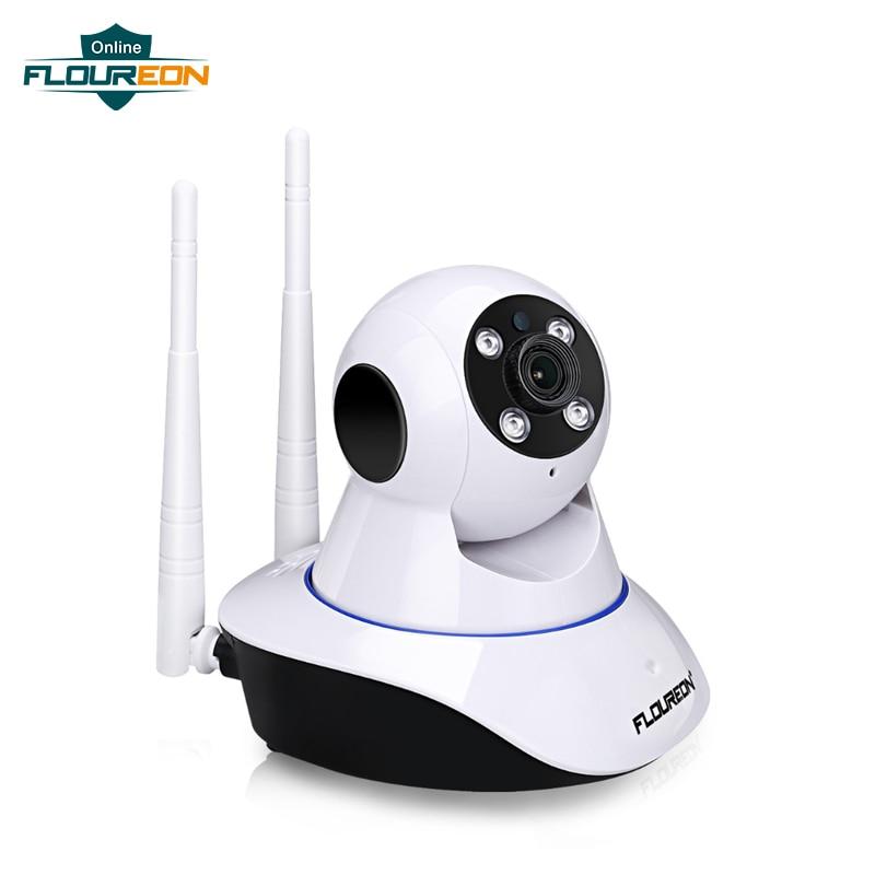 FLOUREON 1080P 2.0MP IP Camera WiFi H.264 Wireless Surveillance Camera Pan/Tilt Infrared LED Night Vision Home Security EU
