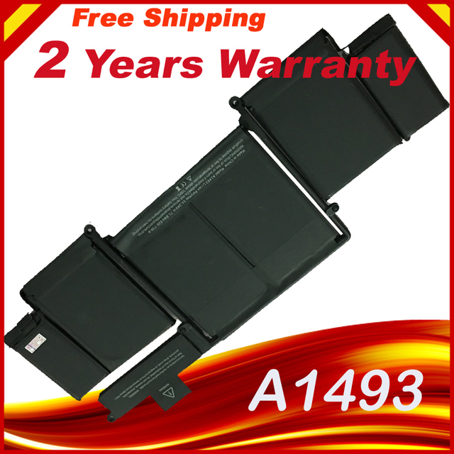 "A1493 Laptop Battery  for Apple Macbook Pro 13"" Retina A1502 Late 2013 Mid 2014 years laptop, replace : A1493 battery"
