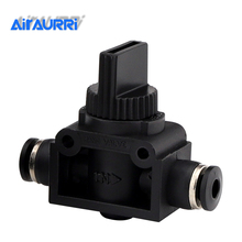 Black Pneumatic Air 2 Way Quick Fittings Push Connector Tube Hose Plastic 4mm 6mm 8mm 10mm 12mm Parts