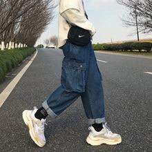 2019 Jeans men Spring Winter New Men's Cotton Pants Loose Fit Denim Trousers Brand Fashion High Quality clothes Hot Sale недорго, оригинальная цена