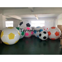 large inflatable football balloon sport ball PVC Cheap Price Event Display helium balloon large sky balloons
