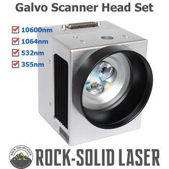 Fiber Laser Galvo Scan Head Galvanometer Scanner 10600nm 1064nm 532nm 355nm CO2 UV Laser Machine Parts Wholesale - DISCOUNT ITEM  10 OFF Tools