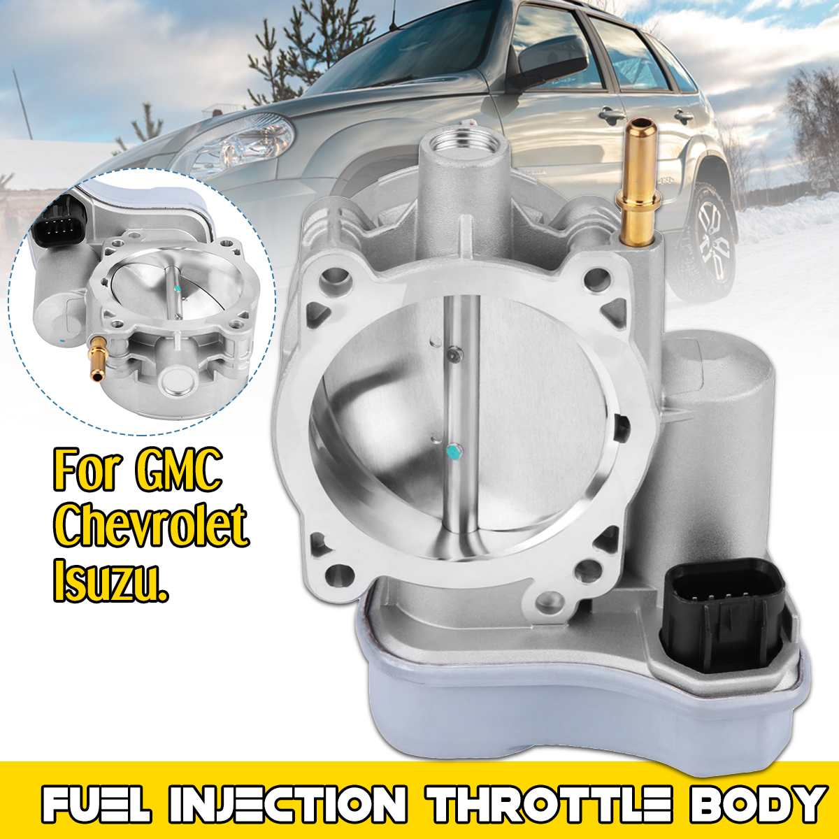 Fuel Injection Throttle Body Assembly 12568580 For GMC/Buick/Chevrolet/Isuzu Car Auto Replacement Parts Air Intake System