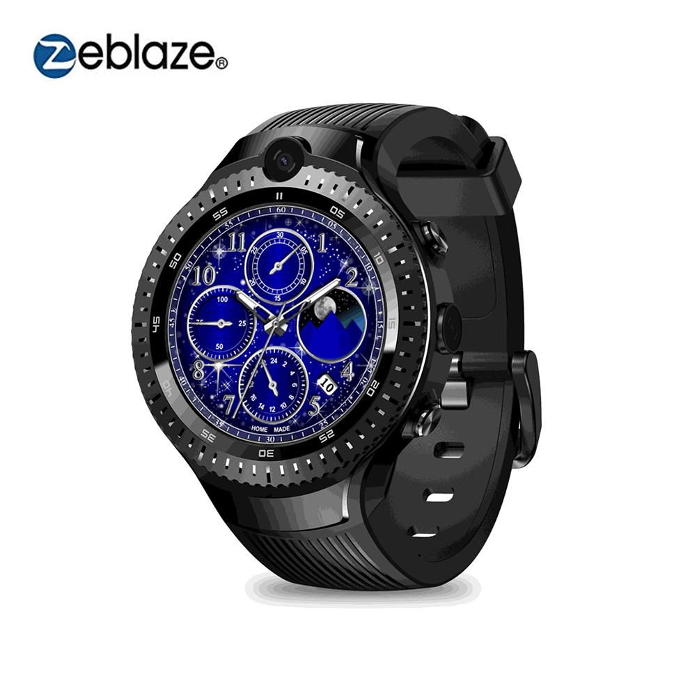 Zeblaze THOR 4 Smart Watch With Dual Camera 4G Watch Heart Rate Monitor Call Reminder Smart Bracelet 16G ROM 530 MAh BatteryZeblaze THOR 4 Smart Watch With Dual Camera 4G Watch Heart Rate Monitor Call Reminder Smart Bracelet 16G ROM 530 MAh Battery