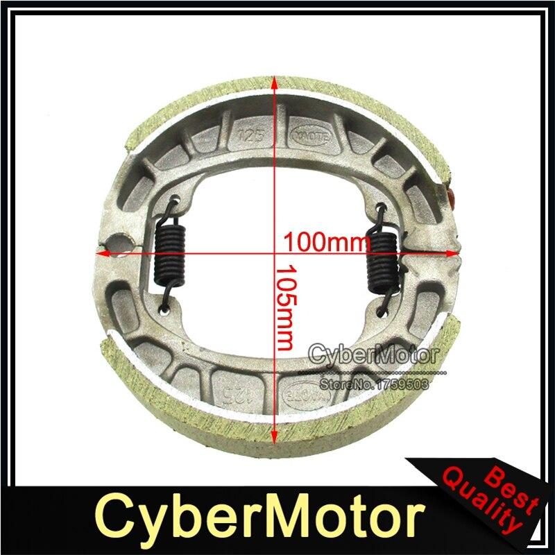 online shop cg125 105mm brake drum shoe for baja motorsports mini bike  mb165 mb200 gy6 50cc 125cc 150cc scooter moped | aliexpress mobile