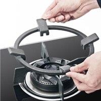 Alta qualidade universal ferro fundido wok pan suporte rack para queimadores de gás hobs & fogões wok rack caber a maioria de hobs wok suporte