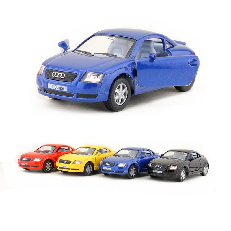 KINSMART DieCast Metal Model/1:32 Scale/Audi TT Coupe Super Sport Toy Car/Gift For Children/Educational Collection
