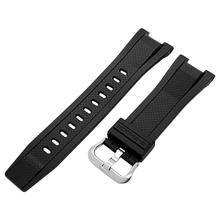 2 Colors Rondaful  New Replacement Watchband For Casio GST-210/W110/W100/S110/S100/B100/S300 Watch Resin Band Wrist