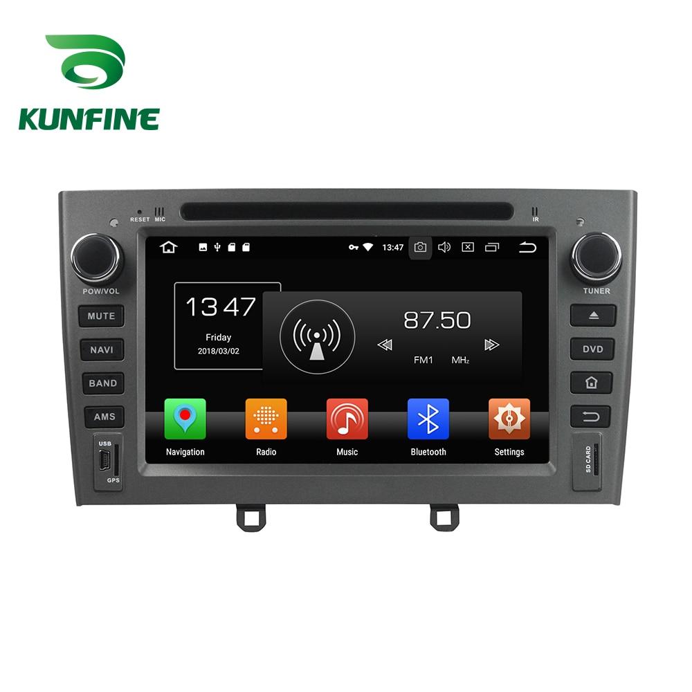 KUNFINE Quad Core 2 GB RAM Android 8.1 Voiture DVD GPS de Navigation Multimédia Lecteur Stéréo De Voiture Pour PEUGEOT 408 2007 -10 Radio headunit