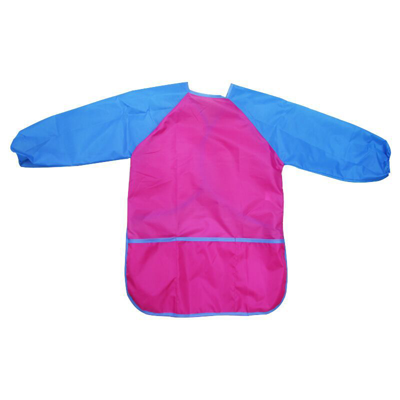 Childrens Art /& Craft Long Sleeve Smock Apron For Painting Cooking School Home