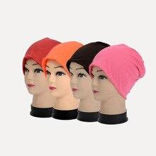 Bonnet beanie Hat 1pc Spring Women Men Unisex Knitted Winter Cap Casual Beanies Solid Color Hip-hop Snap Slouch Skullies цена 2017