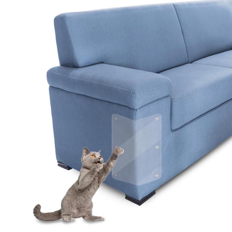 2 Stuks Pet Scratch Guard Mat Krabpalen Meubels Sofa Claw Protector Pad Voor Bekleding Lederen Stoelen Cover Protector Pads Talrijke In Verscheidenheid