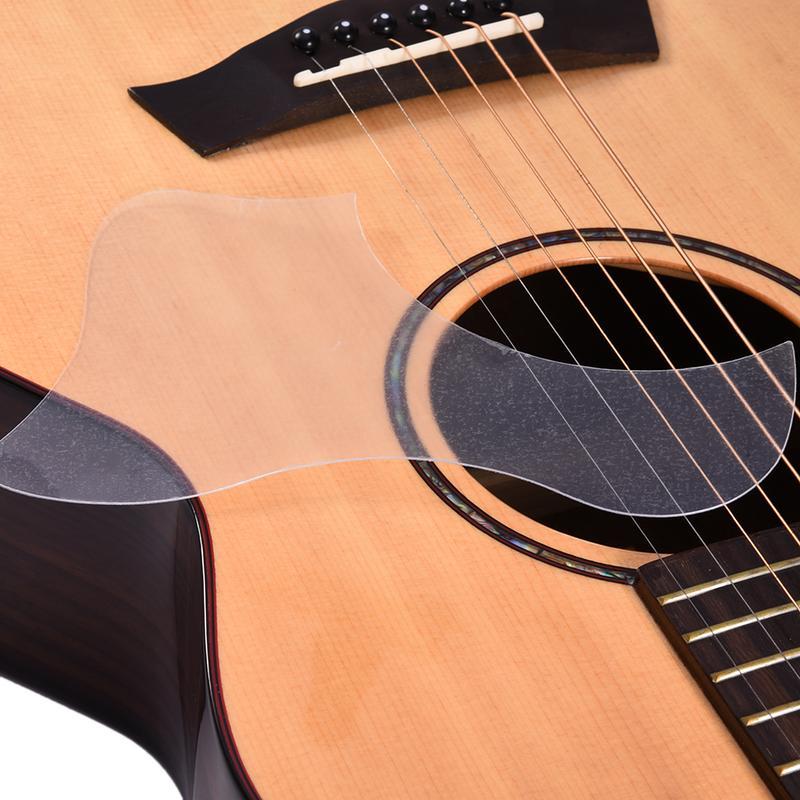 40//41 Inch 2 Pieces Pickguard Pick Guard Sticker for Acoustic Guitar Accessory Gold Vine Drop Shape Acoustic Guitar Shield