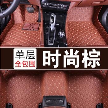 Myfmat foot rugs leather car floor mats for PEUGEOT 206 207 301 307 408 308 308S 508 407 607 3008 2008 4008 5008 307CC 206CC RCZ