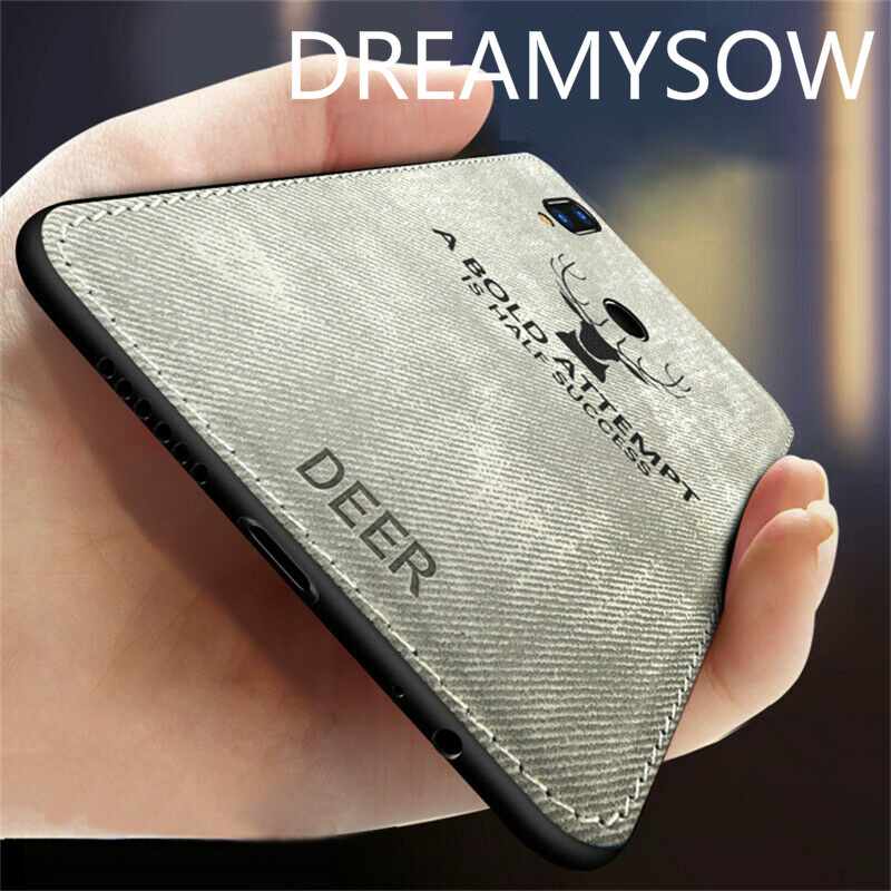 For Xiaomi Redmi 7 Note 7 6 Pro 5A 5 Plus 6A Mi 9 SE Pocophone F1 Mi 8 Lite Mi5X A1 A2 Lite Fabric Deer Cloth Cover Case Capa