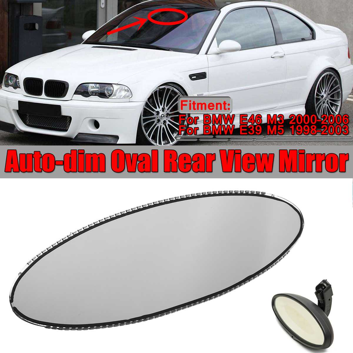 Door Mirror Motor Plate// To Hold the Glass With The Motor BMW X5 E53 00-06