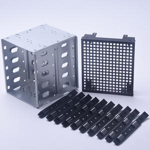 Cage Rack Computer Stainless-Steel for Hard-Drive SAS Pc-Supplies SATA with Fan-Space