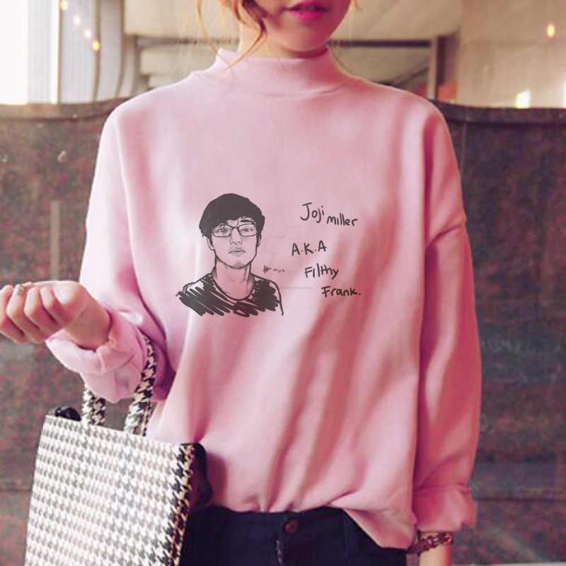 114a5d64e joji hoodies women fleece sweatshirt female female sweat shirt streetwear  japanese fleece hood pink
