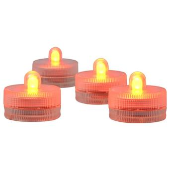 Facotry Wholesale 120pcs 11colors Battery Powered Submersible LED Candle Tea Light For Party Events Decoration