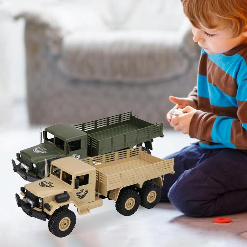 6 Wheels Drive Remote Control Off-road Rc Truck 40m Model Climbing Rc Truck Toys For Children Christmas Birthday Gifts